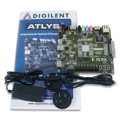 Atlys:Spartan-6 FPGA训练板
