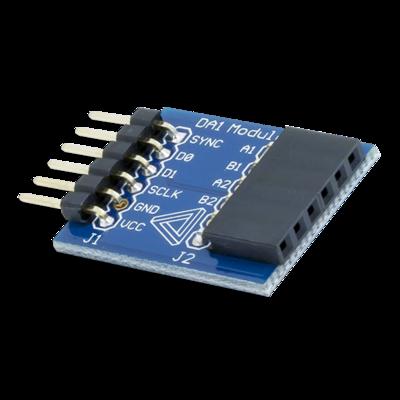 PmodDA1:4通道8位数字模拟输出