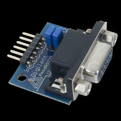 PmodRS232:串口转换器和接口标准模块