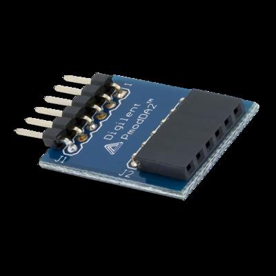 PmodDA2:2个12位数字模拟输出