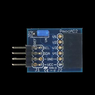 PmodAD2:12位四信道模拟数字转换器