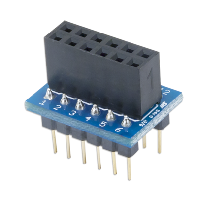 PmodDIP:连接至12引脚Pmod适配器上的DIP模块