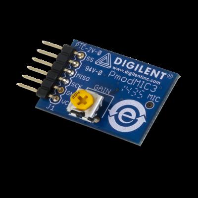 PmodMIC3:带有可调增益功能的MEMS扩音器