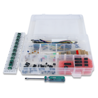 Analog Parts Kit by Analog Devices:Analog Discovery配件包