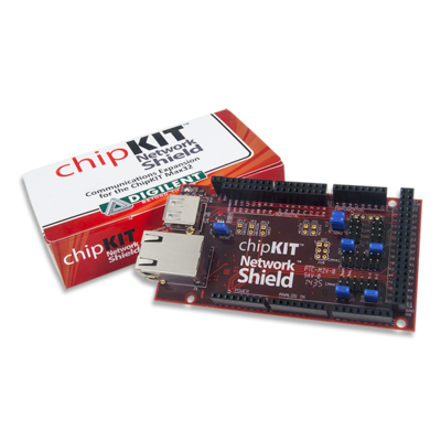 chipKIT Network Shield-  Ethernet for Mega R3 Platforms
