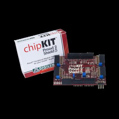 chipKIT Pmod Shield - Uno R3标准转Pmod标准适配扩展板