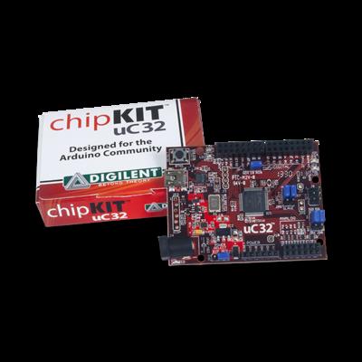 chipKIT uC32:带有Uno R3接头的基础开源微控制器
