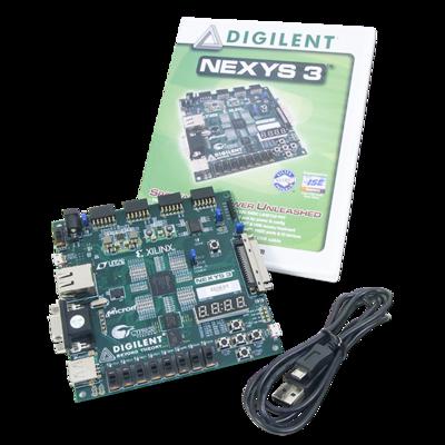 Nexys 3:Spartan-6 FPGA训练板