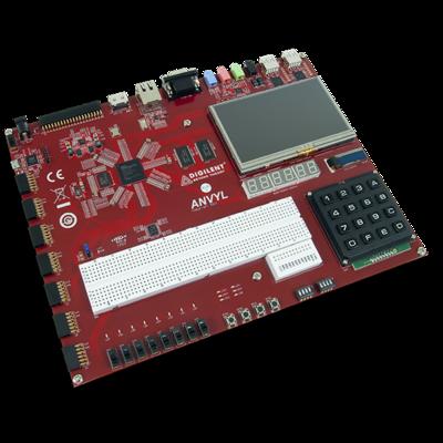 Anvyl:Spartan-6 FPGA训练板