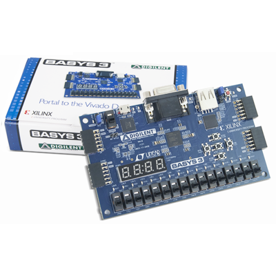 Basys 3 :Artix-7 FPGA训练板 RISC-V开发板