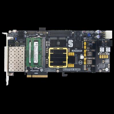 NetFPGA-SUME:Virtex-7 FPGA软件定义网络SDN智能互联系统级开发平台