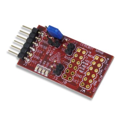 Cerebot Nano - Small Form Factor ATmega168 Microntroller Board