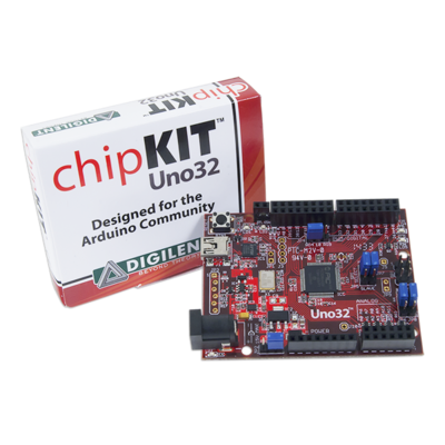 chipKIT Uno32: Basic Microcontroller Board