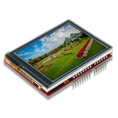 Arduino接口多点智能触摸屏叠加子板