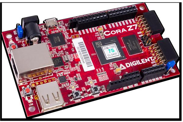 Cora Z7-07S: Zynq-7000  ARM/FPGA SoC Development