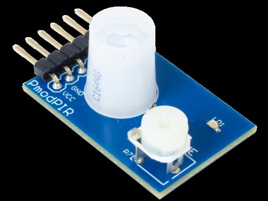 Pmod PIR:被动红外运动传感器