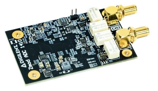 Zmod ADC 1410:兼容SYZYGY的双通道14位模数转换器模块