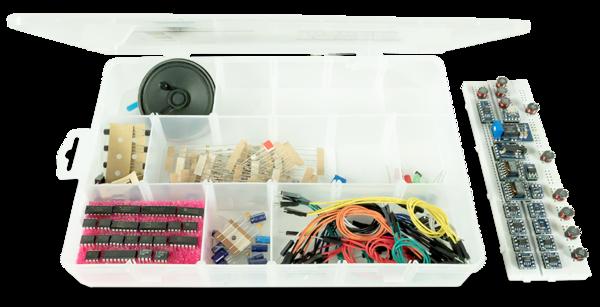 Analog Devices的Analog Parts Kit:用于Analog Discovery的配套套件