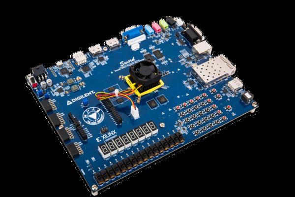 Sword K7-325T Xilinx Digilent RISC-V 计算机系统教学开发板