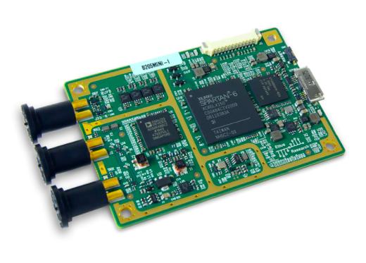 USRP B205mini-i:1X1 USB软件定义无线电平台